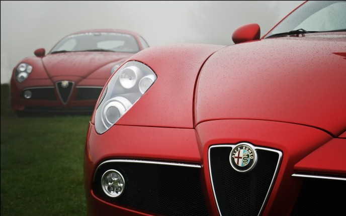 Alfa Romeo Concept Close-up