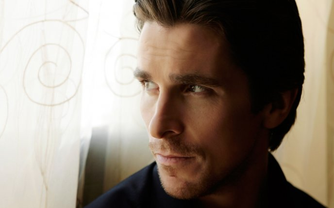 Christian Bale close up HD wallpaper