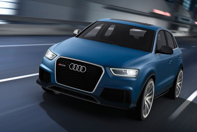 Audi RS Q3 Concept car 2012 - Front View