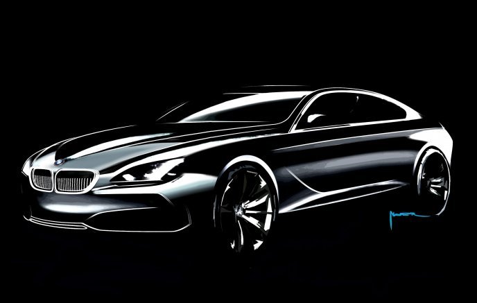 BMW Gran Coupe Concept Sketch