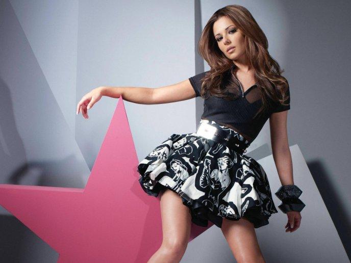Шерил Коул, певица, группа, девочки вслух, пение, соло, красивой, женщина,