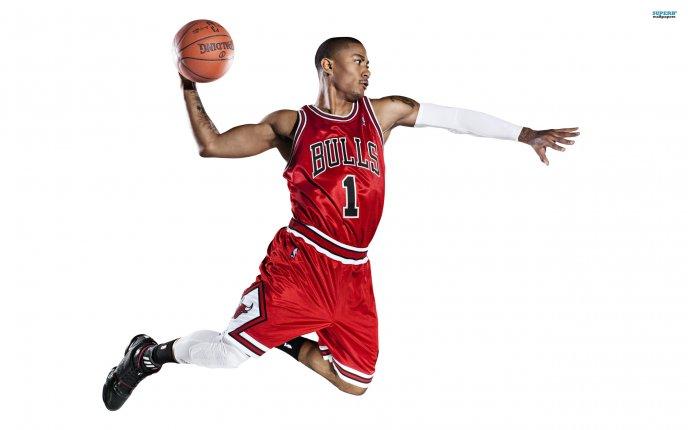 derrick rose basketball player at bulls