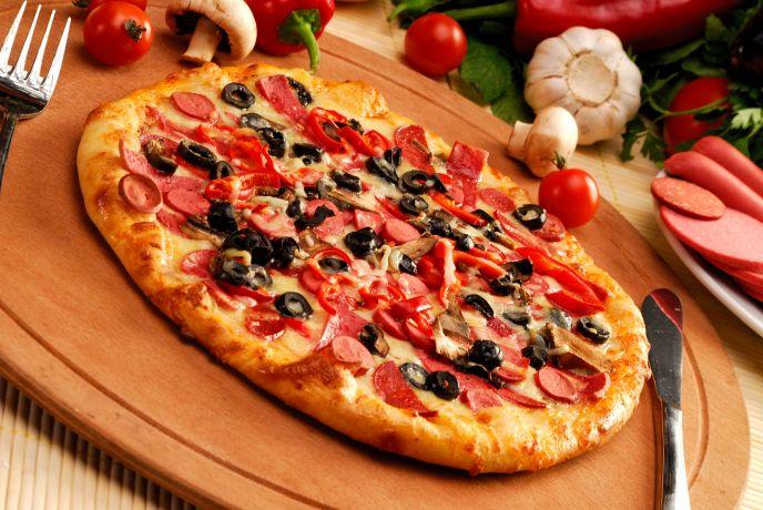 Delicious Looking Pizza Delicious Looking Pizza