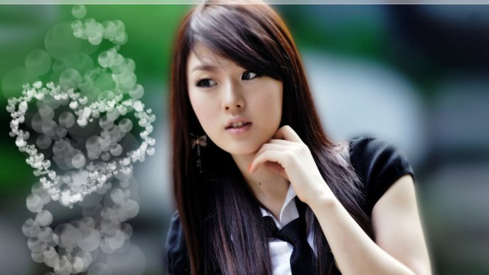 Download Wallpaper Beautiful Hwang Mi Hee -love is in the air