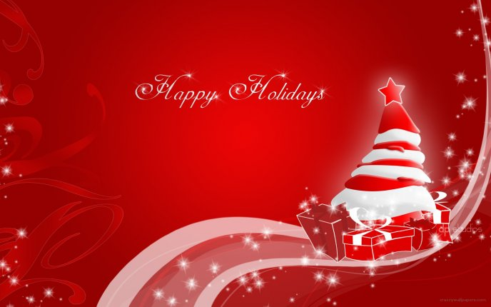Merry Christmas Images Hd.Merry Christmas Hd Red Wallpaper