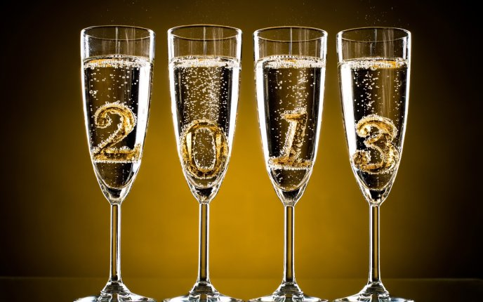 2013 - Cheers for the New Year