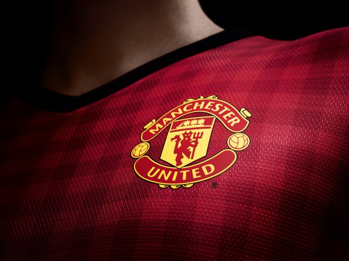 Soccer team logo of Manchester United