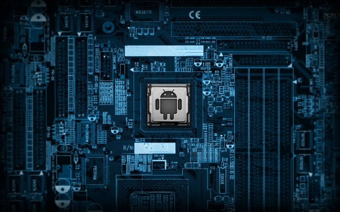 Android inside motherboard