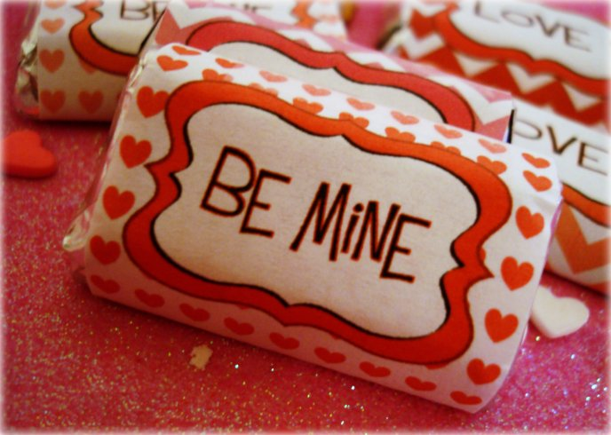 Sweet candy Be Mine - Valentine's Day