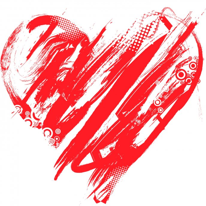 Art Design Heart Symbol Of Love