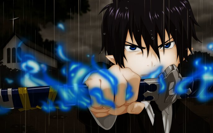 Anime HD wallpaper - Rin Okumura