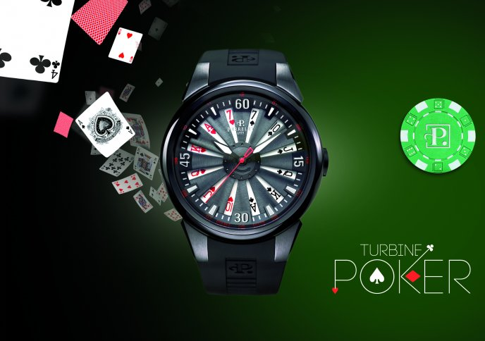 Download Wallpaper Poker watch - nice collectible