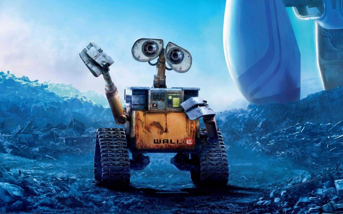 The little robot Wall-E - HD wallpaper