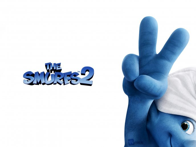 Download Wallpaper New animation movie - The smurfs 2