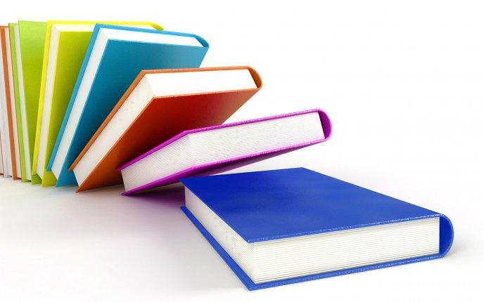 Domino Of Books Hd Wallpaper