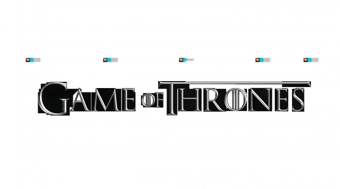 Game of Thrones - white poster of a beautiful serial