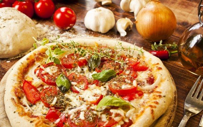 Delicious Pizza Delicious Italian Pizza