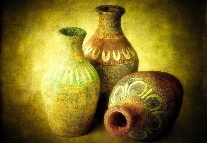 Very old pottery - art...