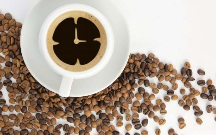 Time for coffee every morning - HD wallpaper