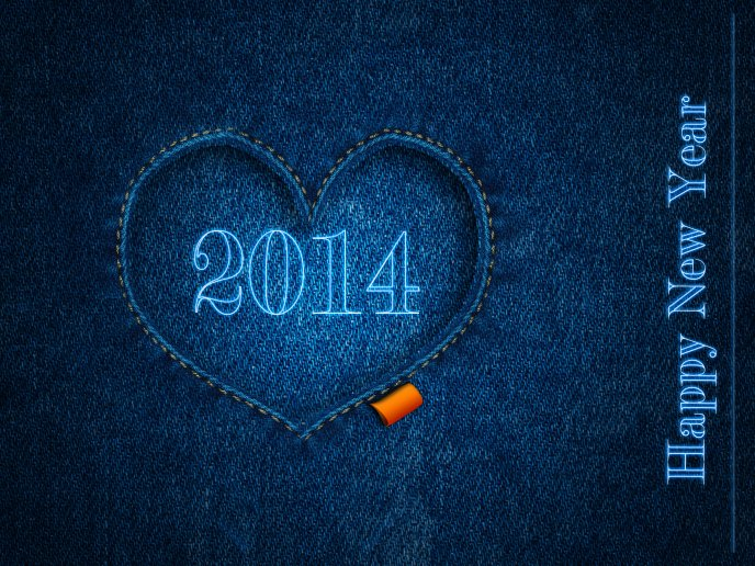 Pants pocket - Happy New Year 2014