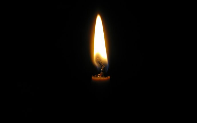 Light in the dark - magic candle