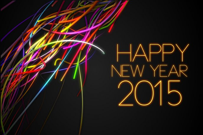 Wallpapers Happy New Year 2015