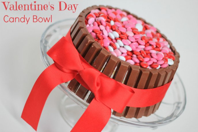 Candy and chocolate cake - With Love for you