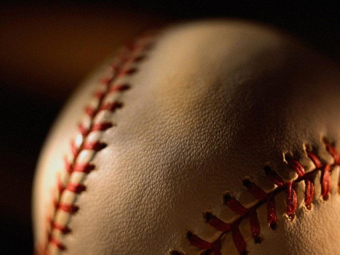 Baseball Sport - HD macro ball wallpaper