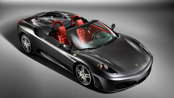 Convertible Ferrari F430 Spider car