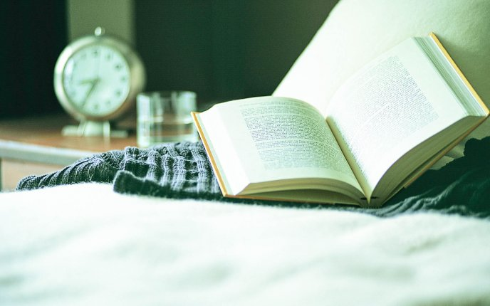 Read The Perfect Book Every Morning Hd Wallpaper