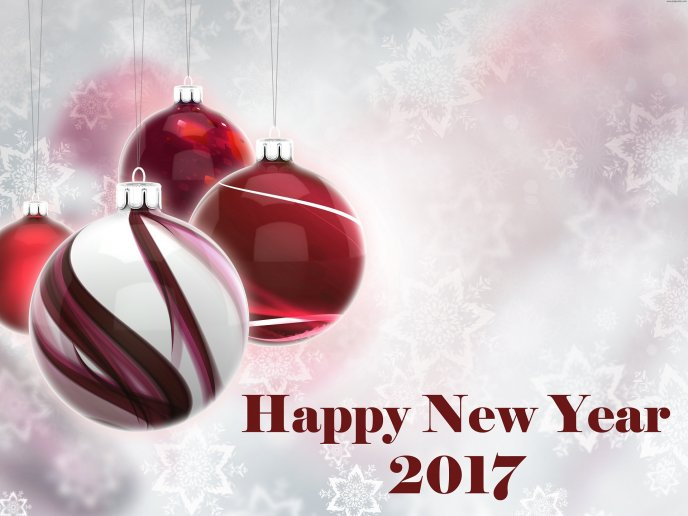 89e6fb541d6a Red and silver accessories - Happy New Year 2017
