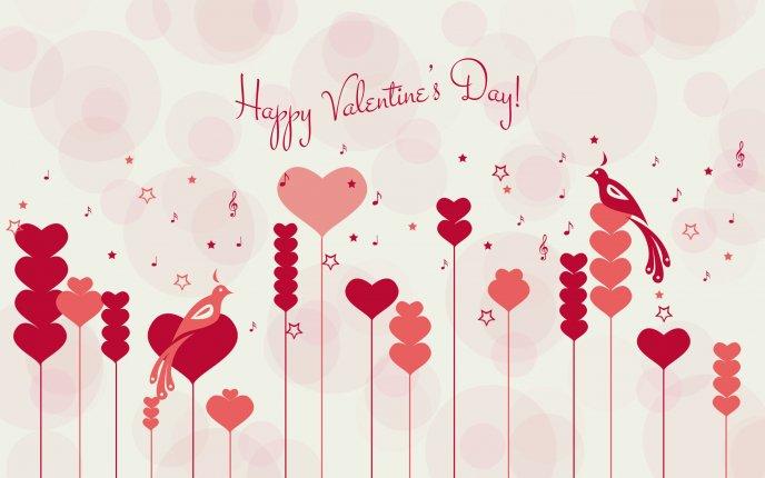 Music and love - Happy Valentines Day