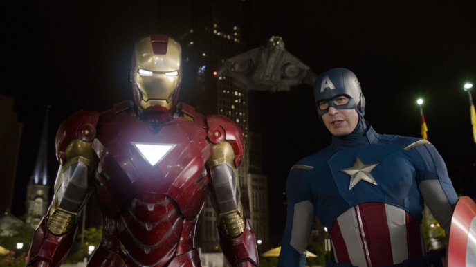 Iron Man and Captain America in new movie 2017 - Avengers