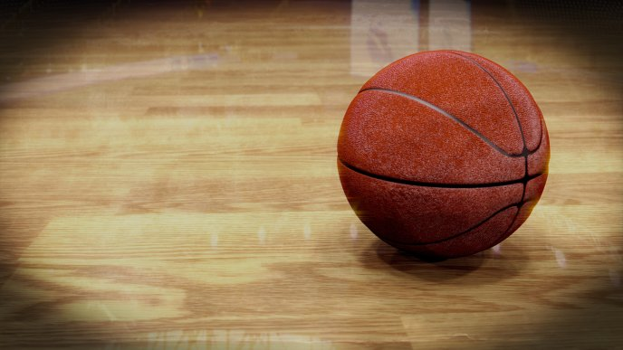 Download Wallpaper Macro Basketball in the gym - HD sport wallpaper