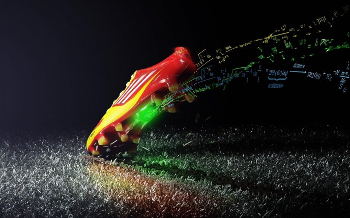 Download Wallpaper High speed for magic sport shoes - Adidas is cool