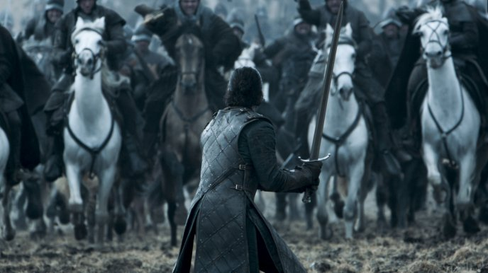 Jon Snow Fight In Game Of Thrones Hd Wallpaper