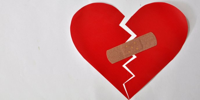 Try to repair a broken heart for Valentines Day