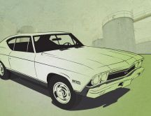 Chevelle SS Sketch