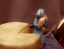 Ratatouille with his cheese