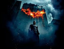 Batman - The Dark Knight Poster HD Wallpaper