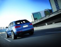 Audi RS Q3 Concept car 2012 - Rear View