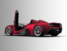 scuderia bizzarrini p538 red