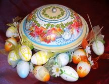 Easter painted eggs 2