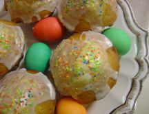 Small Easter cakes