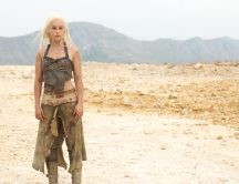 Game of Thrones season 2 - Emilia Clarke in the desert