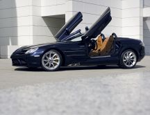 Mercedes-Benz SLR McLaren - navy blue