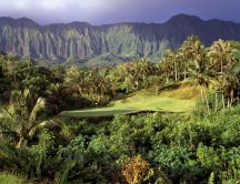 3rd Hole, Luana Hills, Oahu, Hawaii