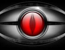 Red eye HD wallpaper