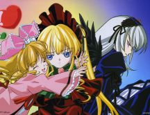 Rozen Maiden - anime movie HD wallpaper