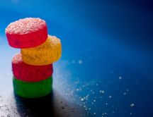 Candy tower HD wallpaper